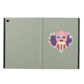 Cinema Pig with flower heart Zvf1w Powis iPad Air 2 Case