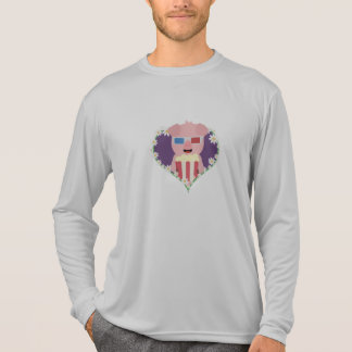 Cinema Pig with flower heart Zvf1w T-Shirt