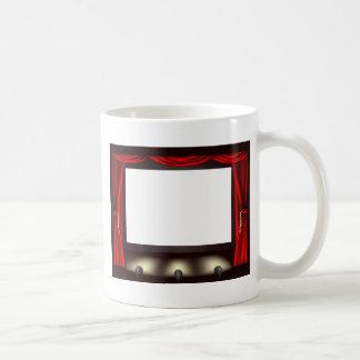 Cinema screen coffee mug