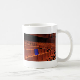 Cinema theater blue seat individual coffee mug
