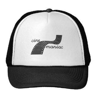 Cinemaniac with Film Strip Mesh Hats