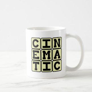 Cinematic Like A Movie Coffee Mugs