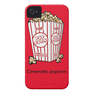 Cinematic popcorn iPhone 4 cover
