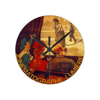 Cinématographe Lumière Wall Clock