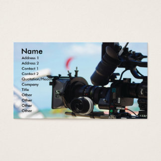 Cinematographer Business Card