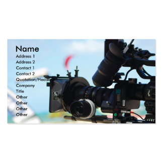 Cinematographer Pack Of Standard Business Cards