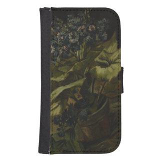 Cineraria by Vincent Van Gogh Samsung S4 Wallet Case