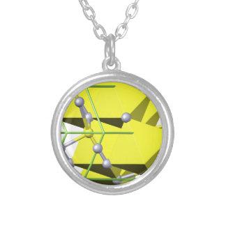 Cinnabar molecule custom jewelry