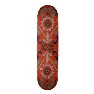 Cinnabar Suzani I Skate Deck
