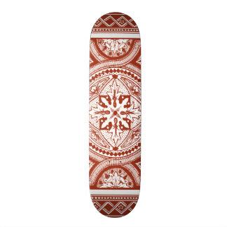 Cinnabar Woodblock IV 21.3 Cm Mini Skateboard Deck