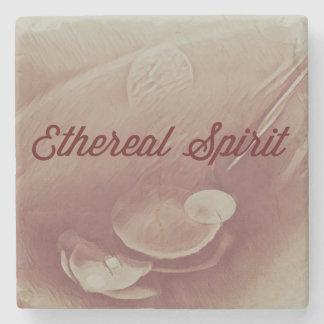 Cinnammon Mystical Ethereal Spirit Stone Coaster