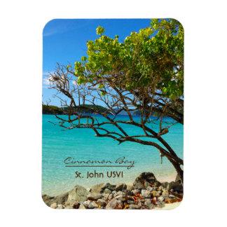 Cinnamon Bay St. John USVI Flexi Magnet