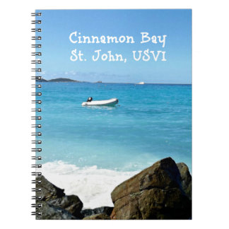 Cinnamon Bay, St. John USVI Notebooks