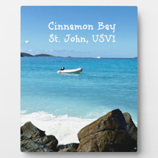 Cinnamon Bay, St. John USVI Plaque