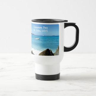 Cinnamon Bay, St. John USVI Travel Mug