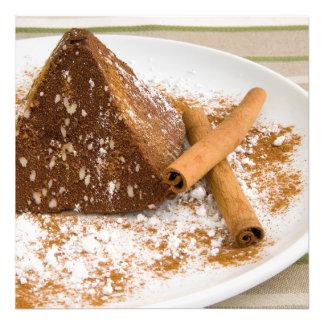 Cinnamon Chocolate Cake Dessert Photo