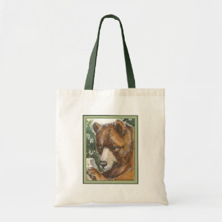 Cinnamon Grizzly Bear Budget Tote Bag