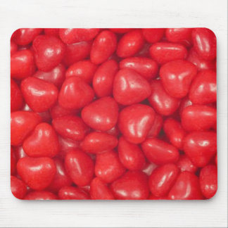 Cinnamon Heart Candies Mouse Pad