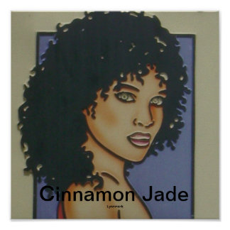 Cinnamon Jade Hair Salon Poster