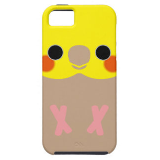Cinnamon Male Cockatiel Tough iPhone 5 Case