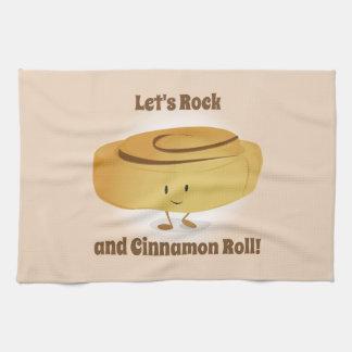 Cinnamon Roll Character   Kitchen Towel