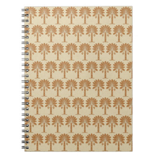 Cinnamon Spice Moods Palm Note Book