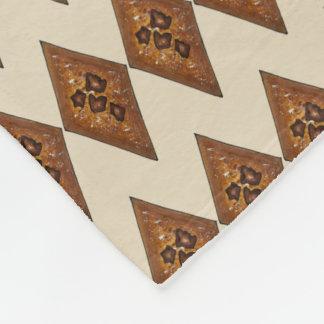 Cinnamon Spice Sugar Sand Tart Christmas Cookie Fleece Blanket