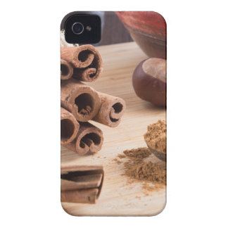 Cinnamon sticks and powder iPhone 4 covers