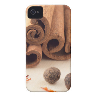 Cinnamon sticks, aromatic saffron and pimento Case-Mate iPhone 4 case