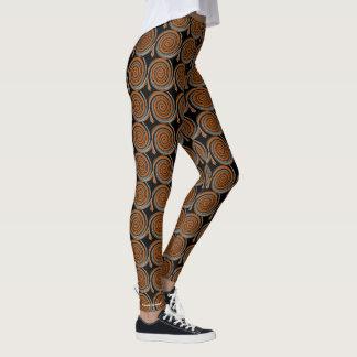Cinnamon Swirl Leggings