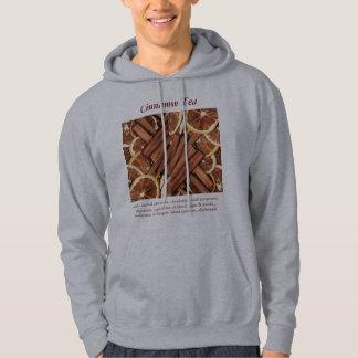Cinnamon Tea mens hoodie