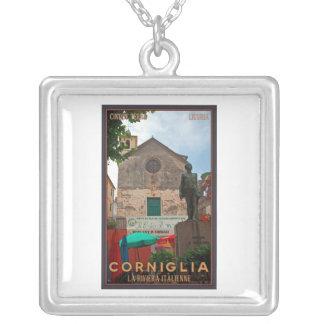 Cinque Terre - Corniglia Silver Plated Necklace