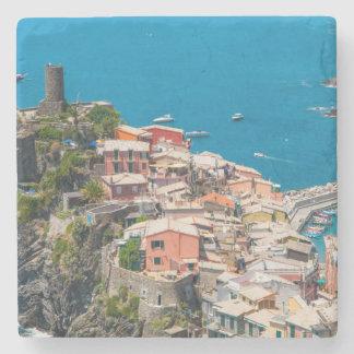 Cinque Terre in Italy Stone Coaster