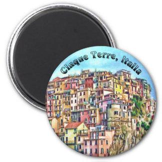 Cinque Terre Italia Fridge Magnet
