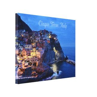 """Cinque Terre, Italy 14"""" x 11"""", 1.5"""", Single Canvas Print"""
