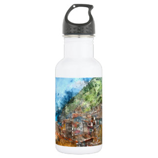 Cinque Terre Italy 532 Ml Water Bottle