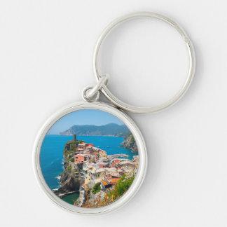 Cinque Terre Italy Destination Location Key Ring