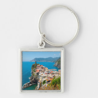 Cinque Terre Italy Destination Location Key Ring