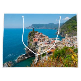 Cinque Terre Italy Destination Location Large Gift Bag
