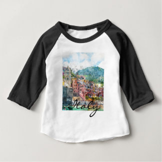 Cinque Terre Italy in the Italian Riviera Baby T-Shirt
