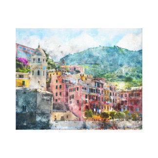 Cinque Terre Italy in the Italian Riviera Canvas Print