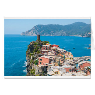Cinque Terre Italy in the Italian Riviera Card