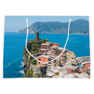 Cinque Terre Italy in the Italian Riviera Large Gift Bag