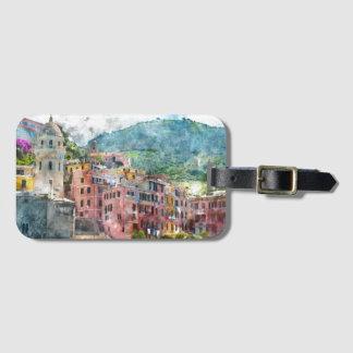 Cinque Terre Italy in the Italian Riviera Luggage Tag