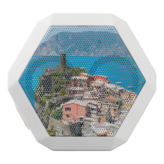 Cinque Terre Italy in the Italian Riviera White Bluetooth Speaker