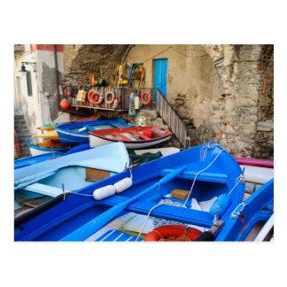 Cinque Terre Italy   Italian Riviera Postcard