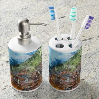 Cinque Terre Italy Soap Dispenser