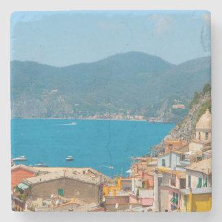 Cinque Terre Italy Stone Coaster