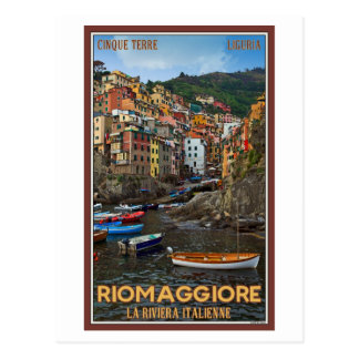 Cinque Terre - Riomaggiore Postcard