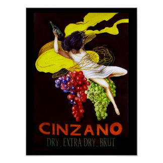 Cinzano Poster